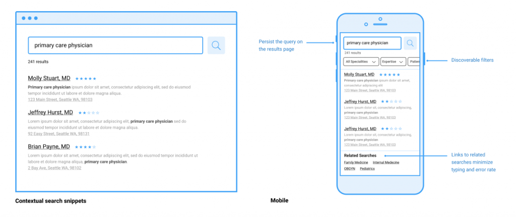 Contextual Search Snippets & Mobile